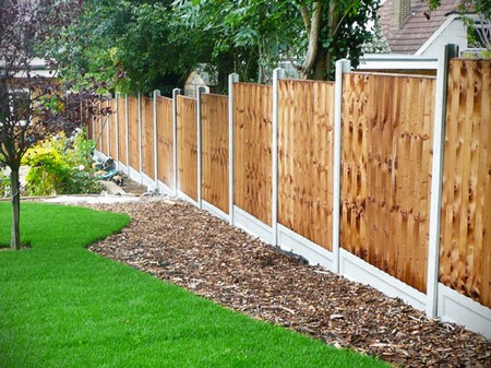 Garden fense Best Way to Brighten Garden Walls and Fences