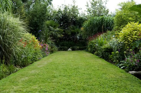 Best way to lay out a border in small garden for Best way to lay out a garden
