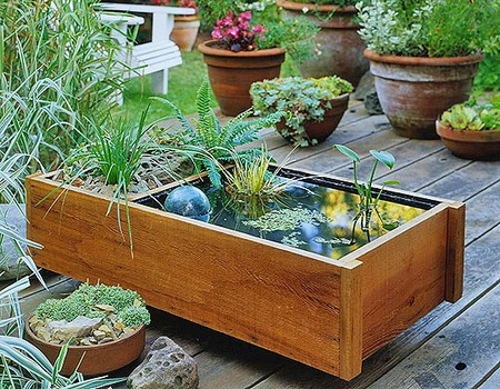 Best Way To Create A Miniature Water Garden In A Large Tub