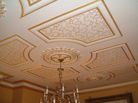 Best Way To Fit A Decorative Ceiling Rose