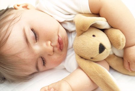 Best way to help baby sleep at night video